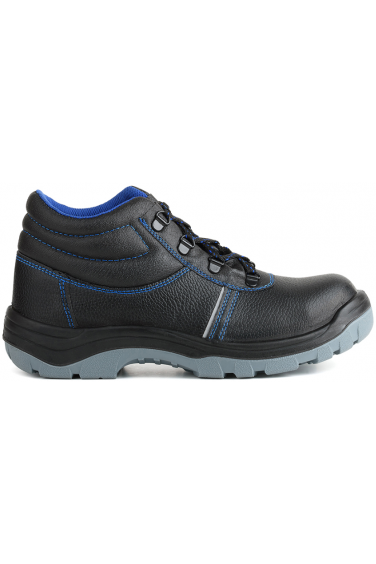 Ботинки литые кожаные ПУ/ПУ