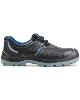 Ботинки литые кожаные ПУ/ПУ  c МП